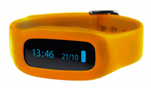 ViFit connect | Wristband orange
