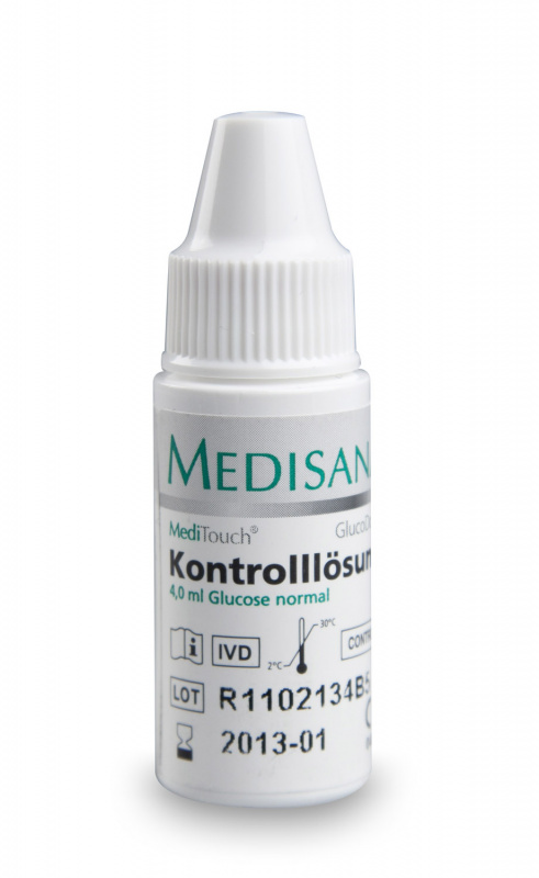 MediTouch/ GlucoDock® | Control Solution