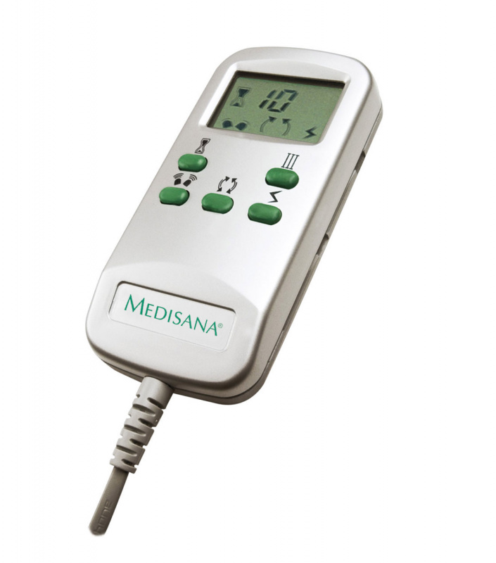 Remote-control for Shiatsu SKM with timer, 3 intensity levels for vibration massage, 2 massage directions, 3 massage programs