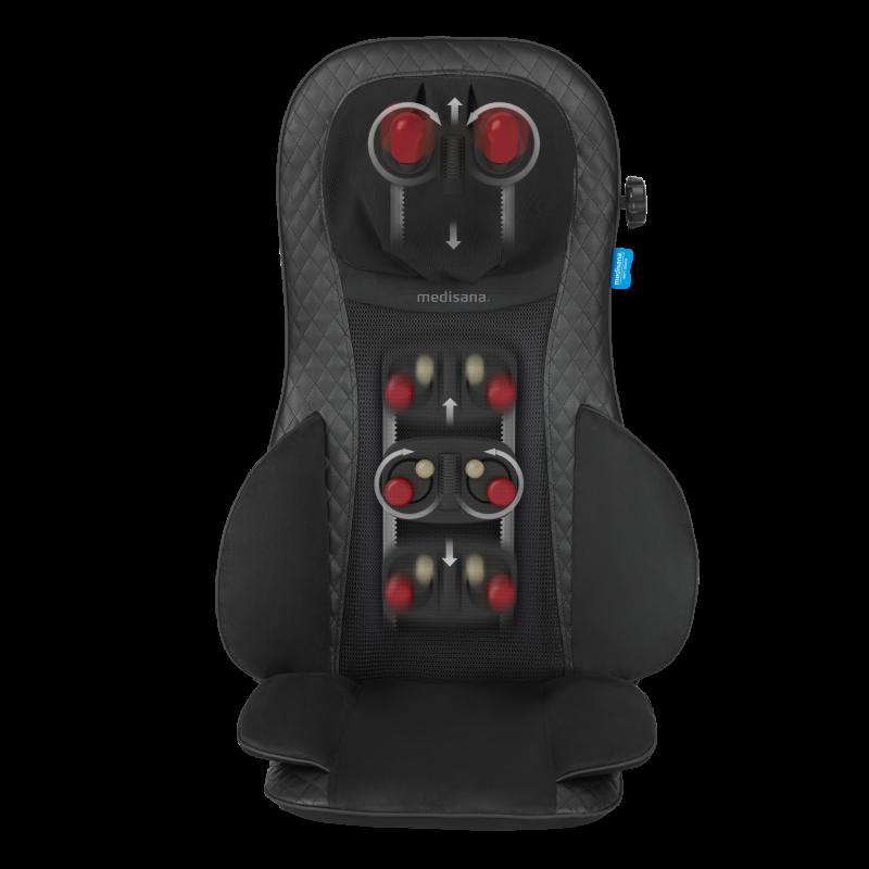 MCG 820 | Comfort shiatsu acupressure massage seat cover