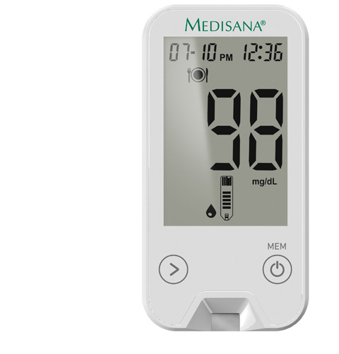 MediTouch 2 mg/dL | Blood glucose monitor incl. starter set