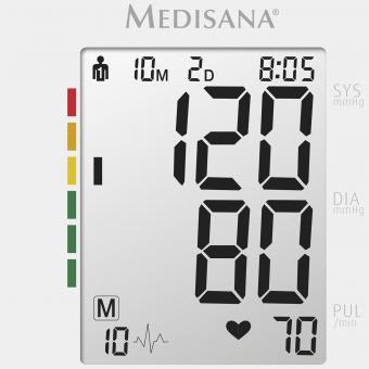 BU 512   Upper arm blood pressure monitor